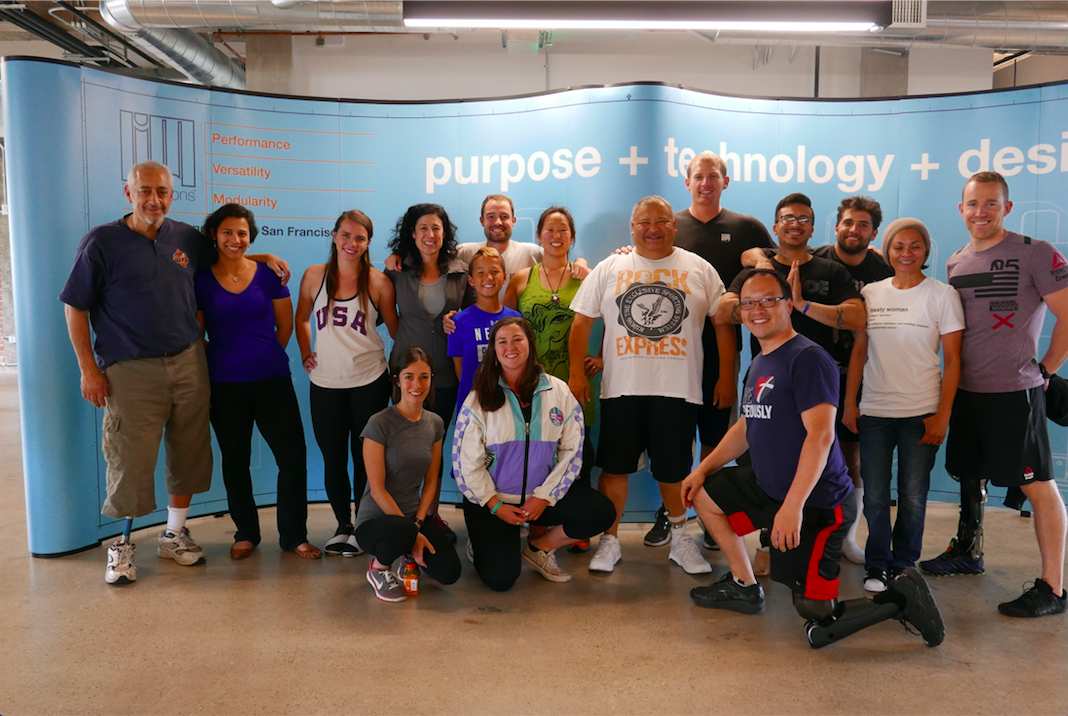 Building the Community – Adaptive Yoga